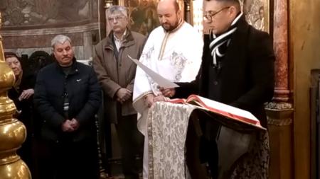 DEPUNEREA JURĂMÂNTULUI DE EPITROP